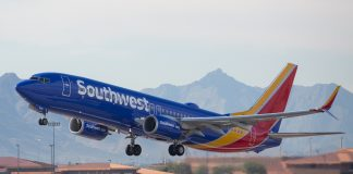 Southwest Airlines - Boeing 737-800