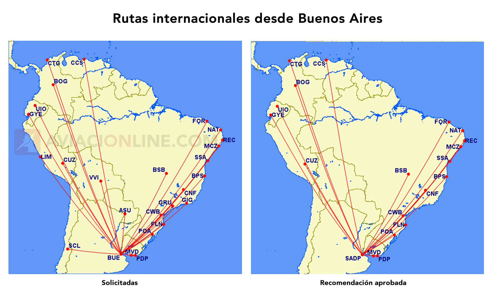 FLYBONDI - RUTAS INT BS AS SOL VS APR