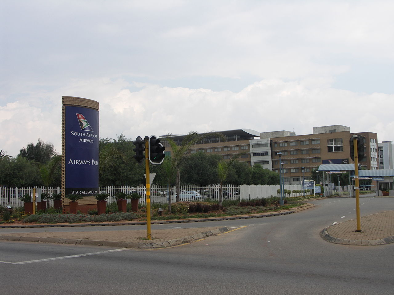 Airways Park - Sede central de South African Airways (Foto: NJR ZA - Wikimedia Commons)